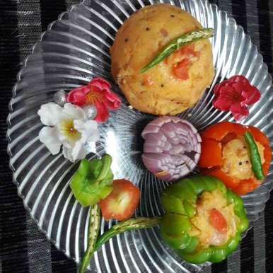 Tamota upma recipe in Telugu,టమాట ఉప్మా, Shobha.. Vrudhulla