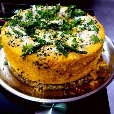 Photo of khaman Dhokla. by Shobha.. Vrudhulla at BetterButter
