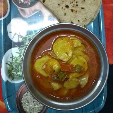 Photo of Aalu ki sabji by Shobha Vyas at BetterButter