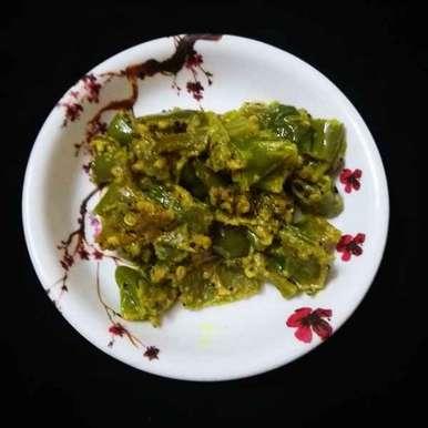 Photo of Hari mirch ki sabji by Shobha Vyas at BetterButter