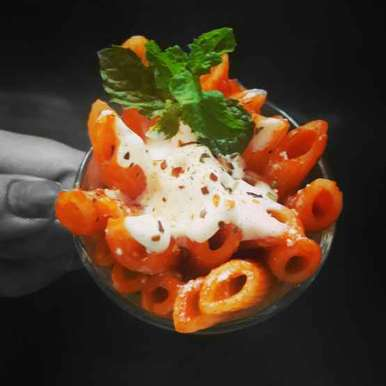 Photo of Penne pasta with cream by Shraddha Tikkas at BetterButter