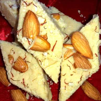Photo of Badam / Almond Barfi by Shreela Sasidharan at BetterButter