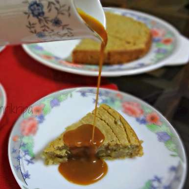 Photo of Warm Fig Pudding with Butterscotch Sauce by Shri Kripa at BetterButter