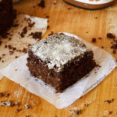 Photo of Eggless Nutella Brownies by Shruti Agrawal at BetterButter