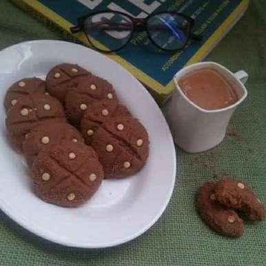 Photo of Chocochip naankhatai by shyama thanvi at BetterButter