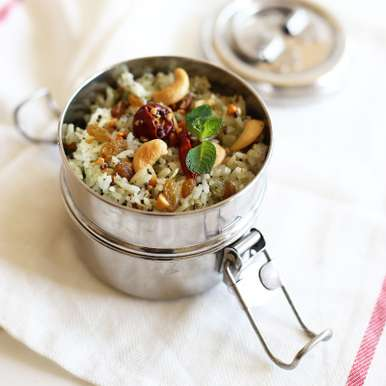 Photo of Mint-Coconut Rice by Sia Krishna at BetterButter