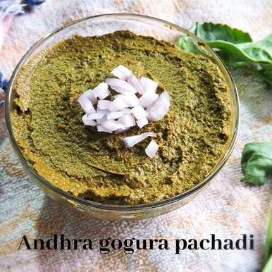 Photo of Andhra gongura pachadi recipe/ red sorrel chutney / ambadi chutney by silpa bhupathiraju at BetterButter