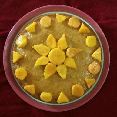 Photo of Mango cake by Sima Biswas at BetterButter