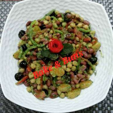 Photo of Chickpea and Red Bean salad by SIMRAN GUPTA at BetterButter