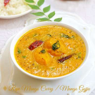 Photo of RIPE MANGO GOJJU ( CURRY ) by Smitha Kalluraya at BetterButter