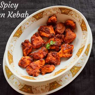 Photo of Hot and Spicy Chicken Kebab by Smrithi Sagar at BetterButter