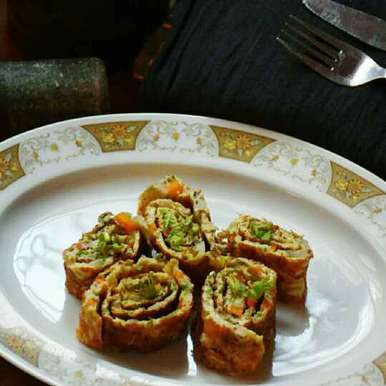 Photo of Protein packed Egg roll by Smrithi Sagar at BetterButter
