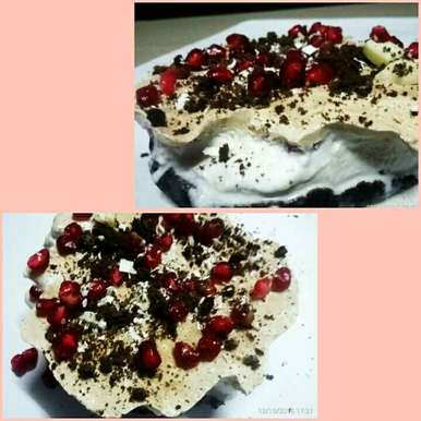 Photo of No Bake Oreo Cake by Smriti jha at BetterButter