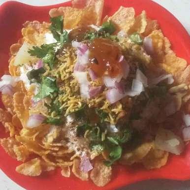 Photo of Corn flakes-Potato chat by Sneha Jha at BetterButter