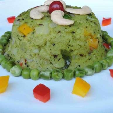 Photo of Green Upma by Solanki Minaxi at BetterButter