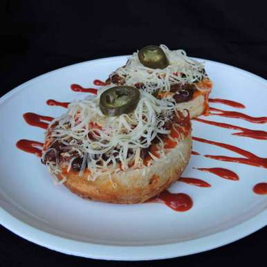 Photo of Burger pizza by Solanki Minaxi at BetterButter