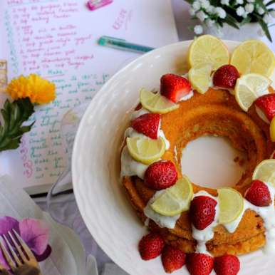 Photo of THE ULTIMATE LEMON YOGURT BERRY CAKE by Soma Pradhan at BetterButter