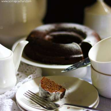 Photo of GLUTEN FREE CHOCOLATE QUINOA CAKE by Soma Pradhan at BetterButter
