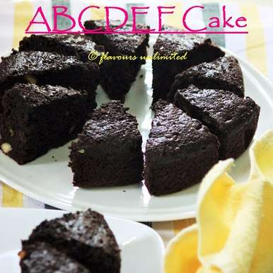 Photo of ABCDEF CAKE by Soma Pradhan at BetterButter