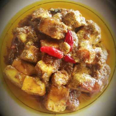 Photo of Paneer in mustard and honey gravy by Soma Das at BetterButter