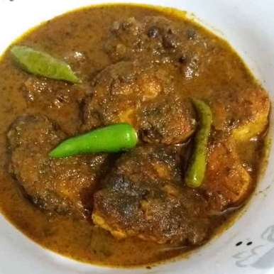 Photo of Mouri bata maachh(Rohu fish curry with sauf/ fenal seeds paste) by Soma Mukherjee at BetterButter