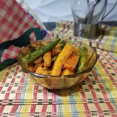 Photo of Carrot and Green Chili Pickle by Sonia Batra at BetterButter