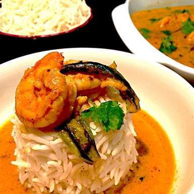Photo of Prawns in Coconut Curry by Sonia Shringarpure at BetterButter