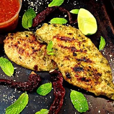 Weight Watchers Garlic Curry Leaf Grilled Chicken