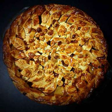 Photo of Salted Caramel Apple Pie by Sonia Shringarpure at BetterButter