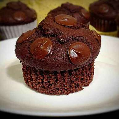 Photo of Double Chocolate Muffins by Sonia Shringarpure at BetterButter