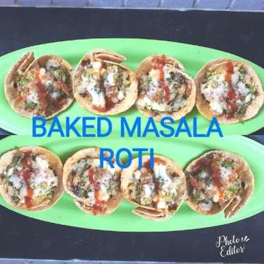 Photo of Baked masala Roti by Soniya Singh at BetterButter