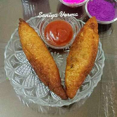Bread roll recipe in Hindi,ब्रेड रोल, Soniya Verma
