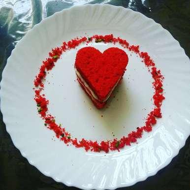 Photo of Red Velvet Cake (eggless) by Sonoo Modani at BetterButter