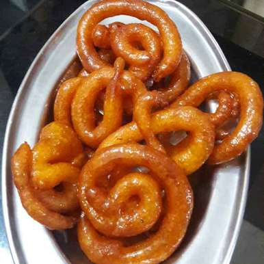 Photo of RED JALEBI by Soumi Biswas at BetterButter