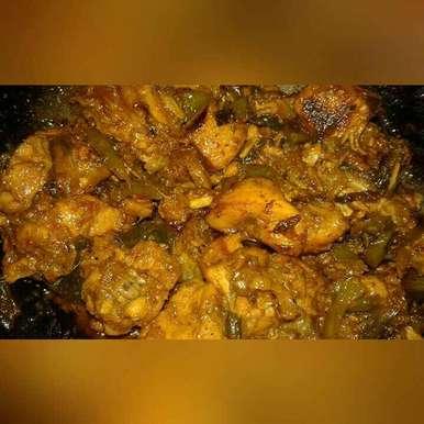 Hot And Sweet Chicken Fry recipe in Bengali,হট এন্ড সুইট চিকেন ফ্রাই, Soumi Sarkar