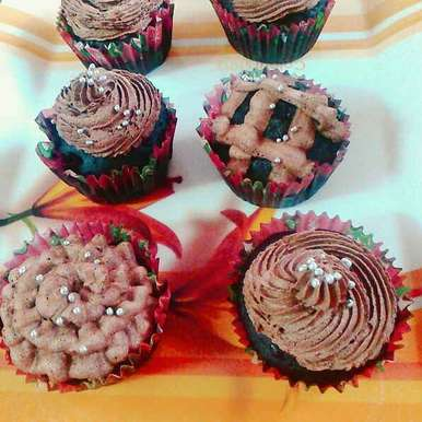 Photo of Chocolate Dry Fruit Muffins by Avni U at BetterButter