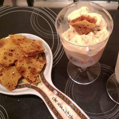 Photo of Honeycomb yogurt ice cream by Sreemoyee Bhattacharjee at BetterButter