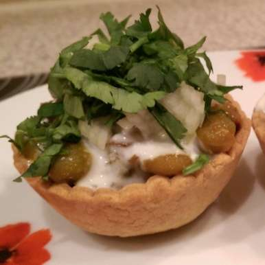 Photo of Katori chaat by Sreemoyee Bhattacharjee at BetterButter