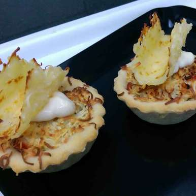 Photo of Pizza tarts with cheese twirls by Sreemoyee Bhattacharjee at BetterButter