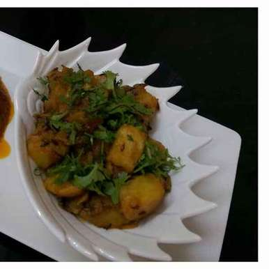 Photo of Railway aloo curry with satpura paratha by Sreemoyee Bhattacharjee at BetterButter