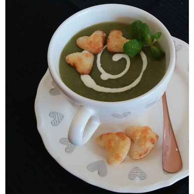 Photo of Pea soup by Sreemoyee Bhattacharjee at BetterButter