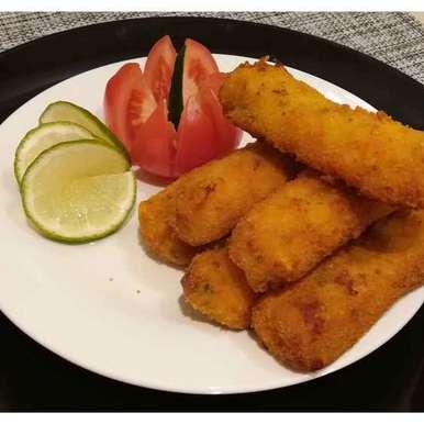 Potato and corn sticks, How to make Potato and corn sticks