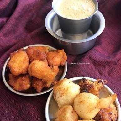 Photo of Sooyan /Sukiyan /Suzhiyam from leftover Idli / dosa batter  - Classic Teatime Combo by Srividhya Ravikumar at BetterButter
