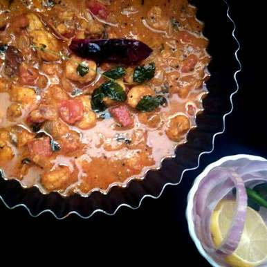 Photo of Prawns Curry Cooked in Tomato and Coconut by Subashini Murali at BetterButter