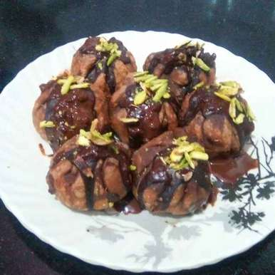 Photo of Fried Chocolate and Coconut Modaks by subhali lokare at BetterButter