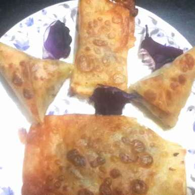 Photo of Italian pasta cone puffs by Sucheta Bos at BetterButter