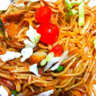 Photo of Pan fry noodles by Sucheta Bos at BetterButter