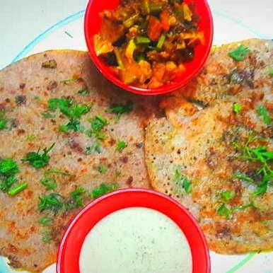 Photo of Ragi Urad Dal pancakes by Sucheta Bos at BetterButter