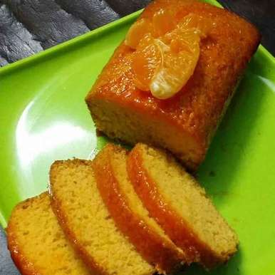 Photo of Orange pound cake with orange syrup by Sudeshna Mondal at BetterButter