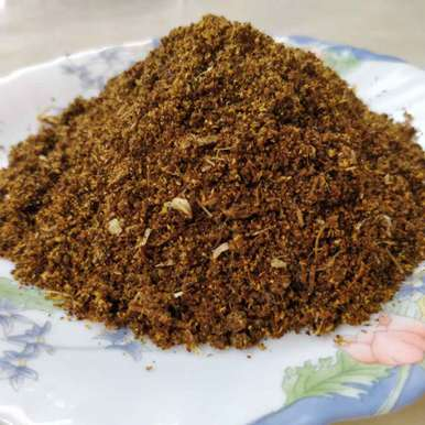 Photo of Garlic Dry Chillies Powder by Sudha Badam at BetterButter